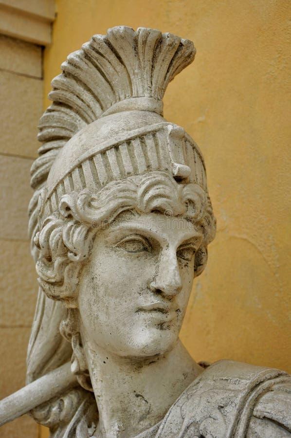 Γλυπτό του ρωμαϊκού στρατιώτη στοκ φωτογραφίες με δικαίωμα ελεύθερης χρήσης