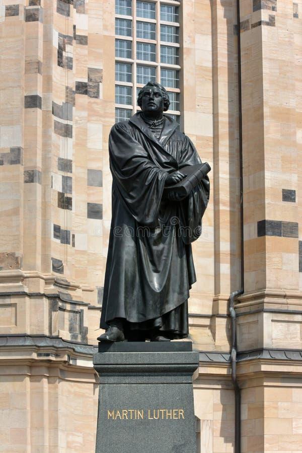 Γλυπτό του Martin Luther στοκ εικόνες με δικαίωμα ελεύθερης χρήσης
