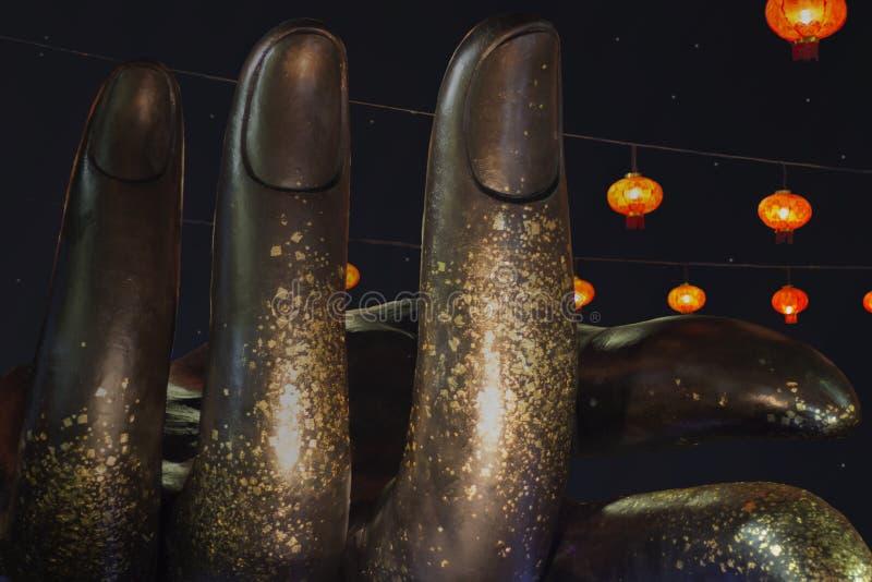 Γλυπτό χεριών στοκ εικόνα με δικαίωμα ελεύθερης χρήσης