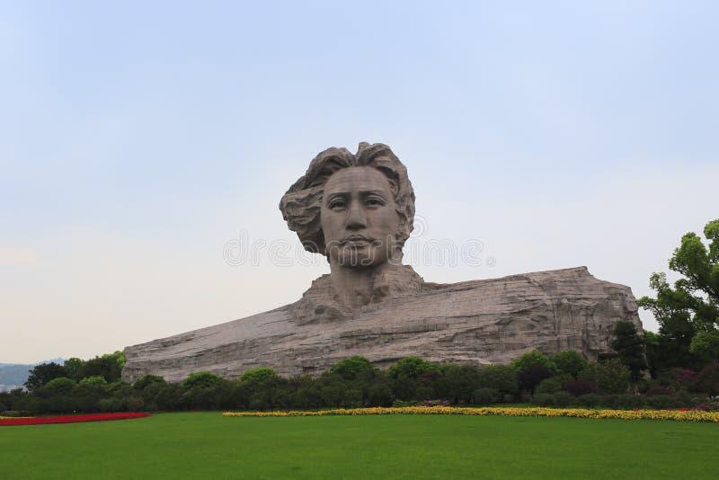 Γλυπτό Mao zedong στοκ φωτογραφίες