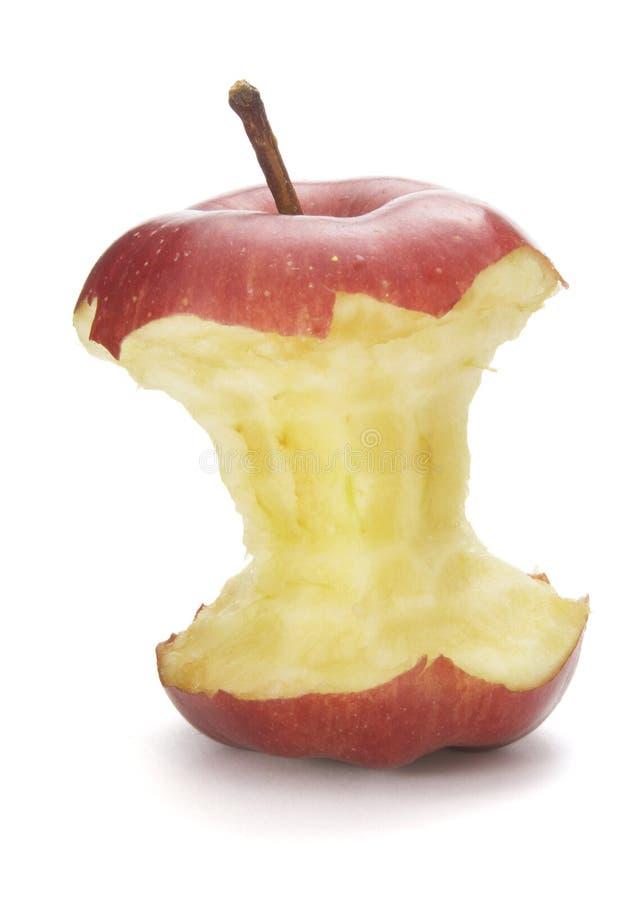 δάγκωμα 2 μήλων στοκ φωτογραφίες