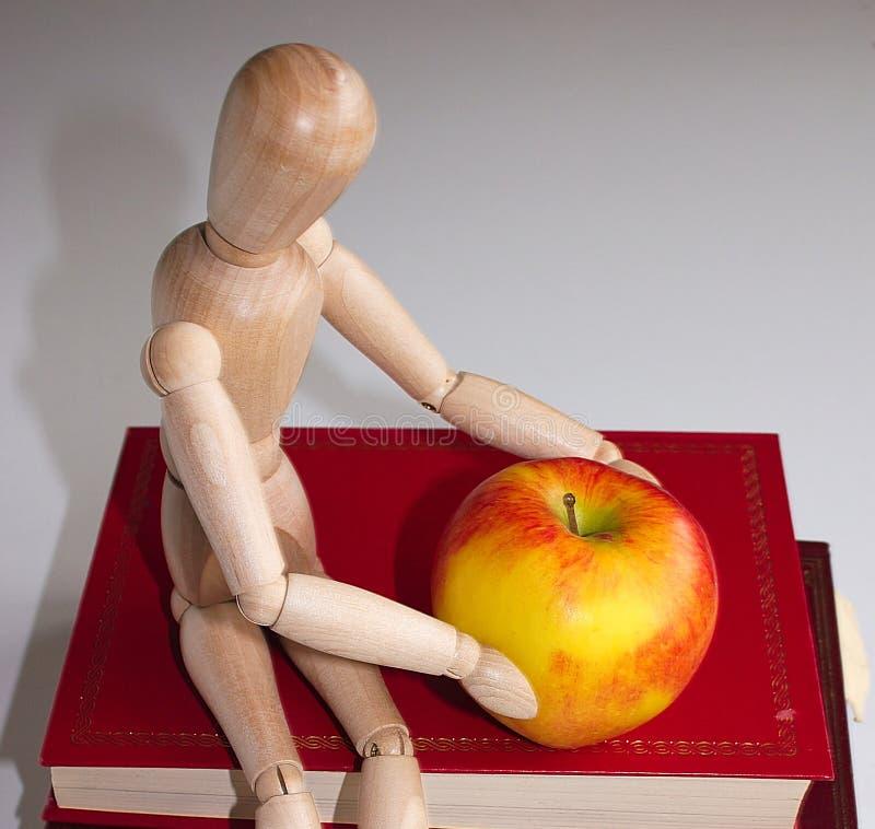 δάσκαλος μήλων στοκ εικόνα