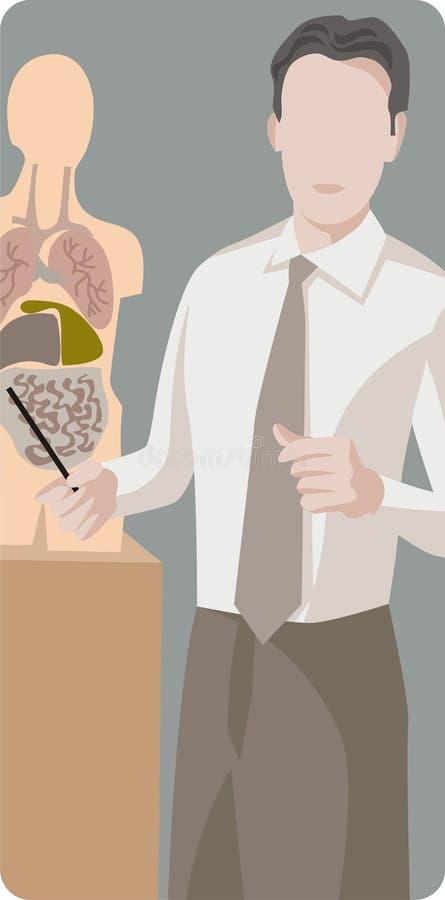δάσκαλος σειράς απεικόν απεικόνιση αποθεμάτων