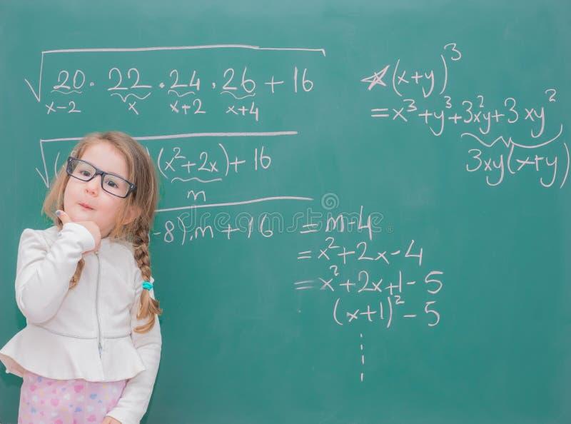 Δάσκαλος κοριτσιών παιδιών στοκ εικόνες
