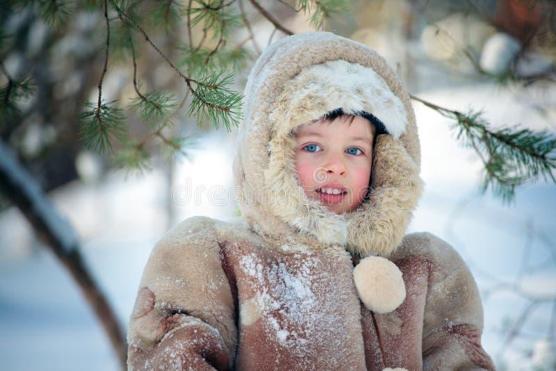 δάσος αγοριών λίγος χει&mu στοκ εικόνα με δικαίωμα ελεύθερης χρήσης