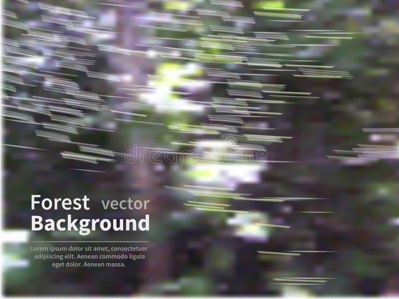 Δάσος θαμπάδων απεικόνιση αποθεμάτων