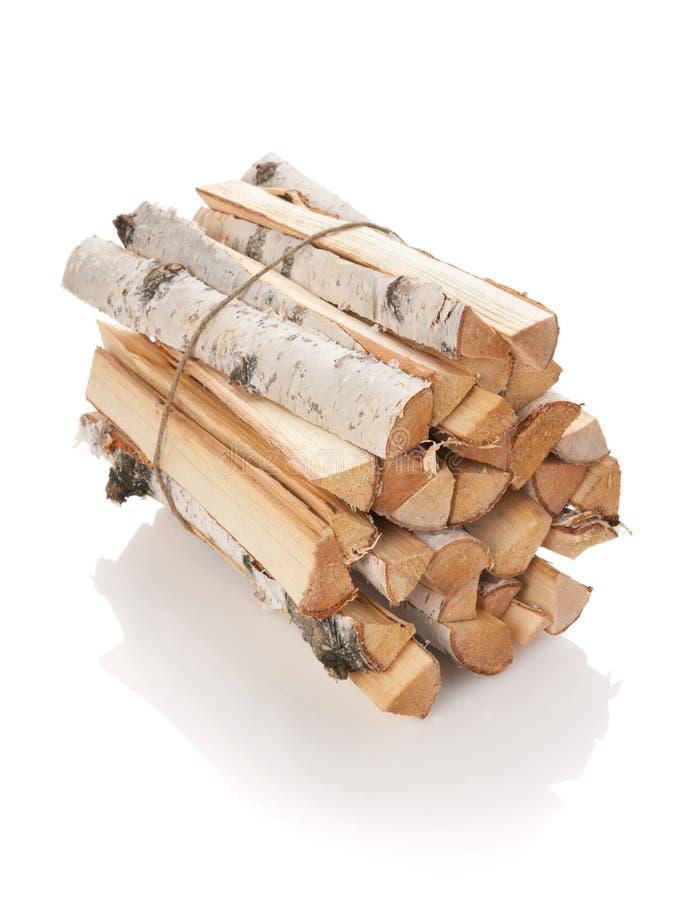 δάσος κούτσουρων πυρκα& στοκ εικόνα με δικαίωμα ελεύθερης χρήσης