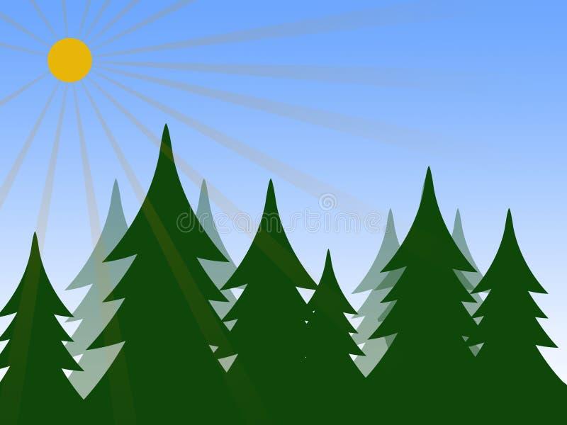δάσος ελεύθερη απεικόνιση δικαιώματος
