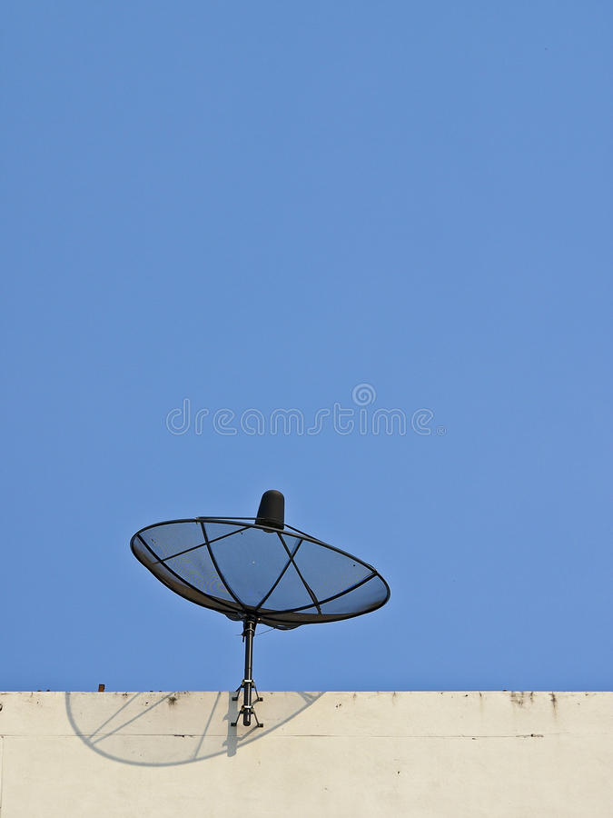 Δέκτης από τον ουρανό στοκ φωτογραφία με δικαίωμα ελεύθερης χρήσης