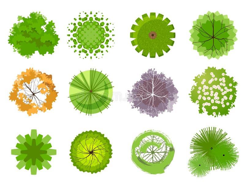Δέντρα για το τοπίο σας απεικόνιση αποθεμάτων