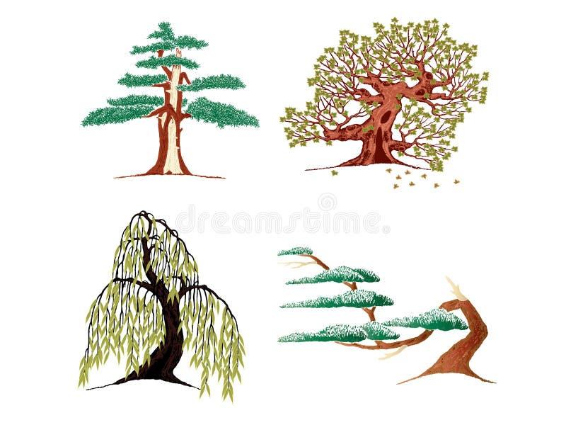 δέντρα εικονιδίων στοκ φωτογραφίες με δικαίωμα ελεύθερης χρήσης
