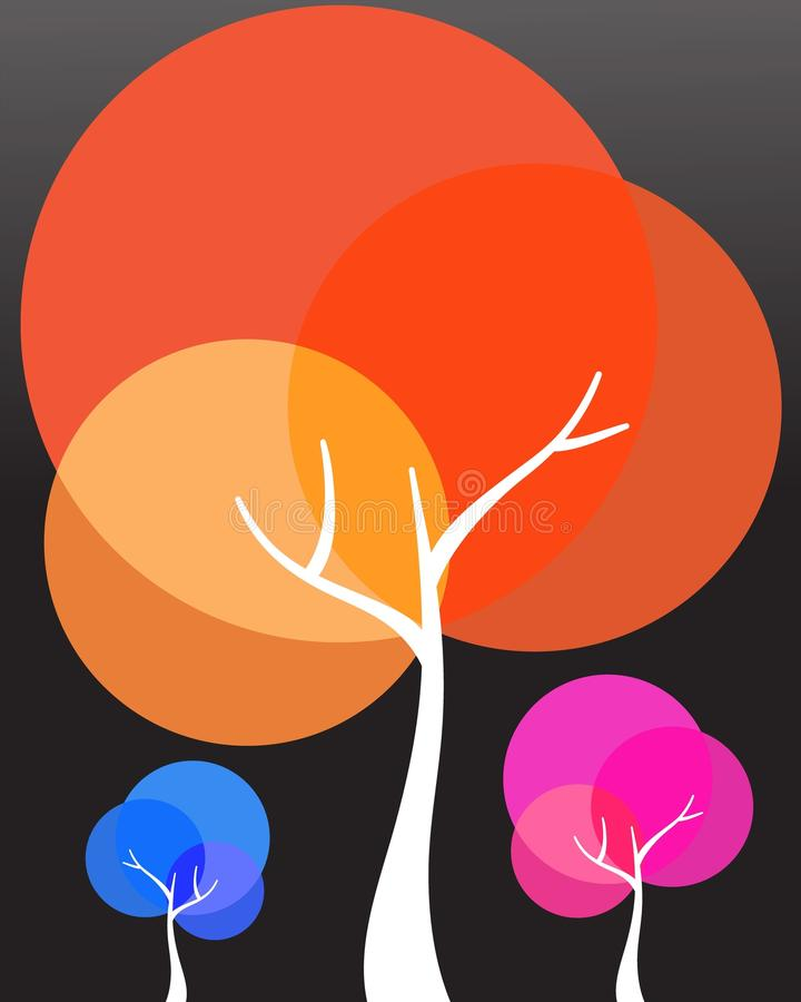 δέντρα ελεύθερη απεικόνιση δικαιώματος
