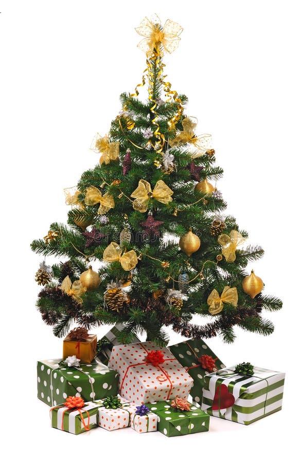 δέντρο έλατου Χριστουγέννων στοκ φωτογραφία με δικαίωμα ελεύθερης χρήσης