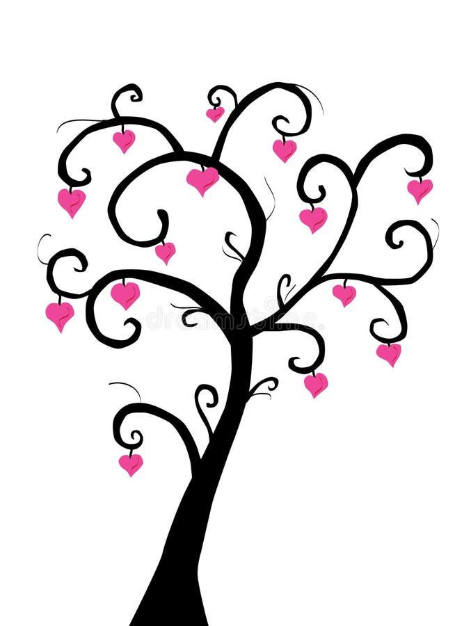 δέντρο αγάπης απεικόνιση αποθεμάτων