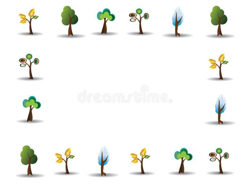 δέντρο απεικόνισης σχεδί&ome στοκ εικόνα