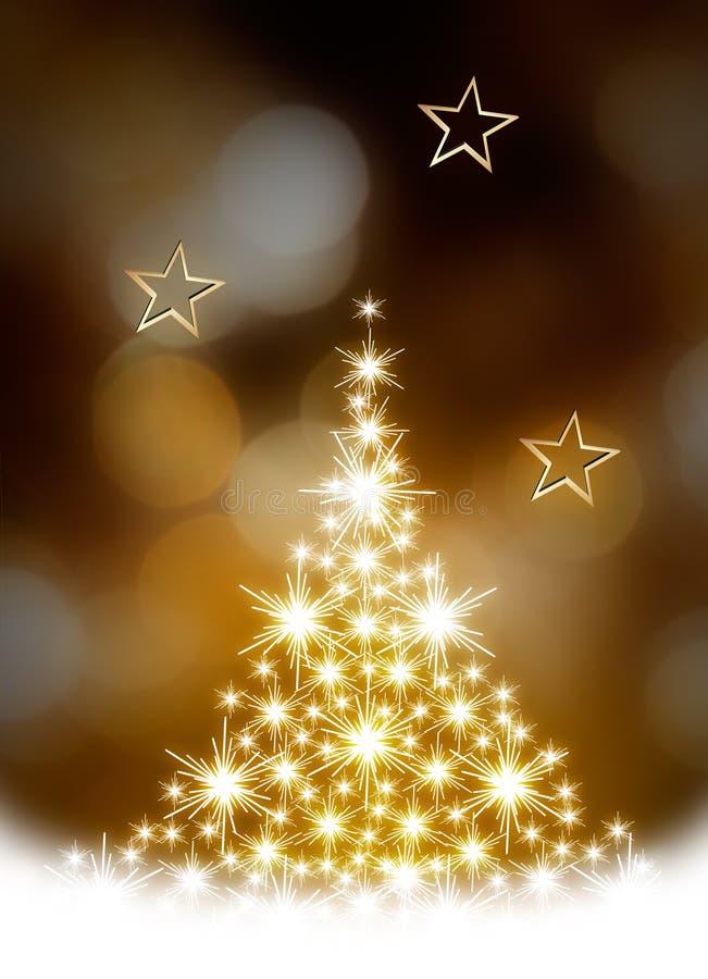 δέντρο απεικόνισης Χριστουγέννων διανυσματική απεικόνιση