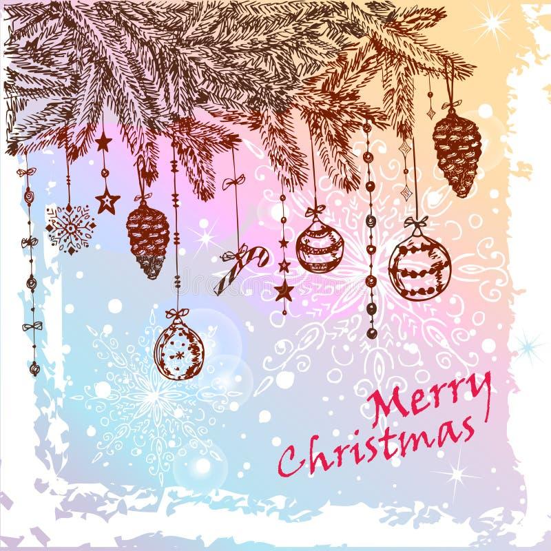 Δέντρο γουνών Χριστουγέννων Στοκ Εικόνες