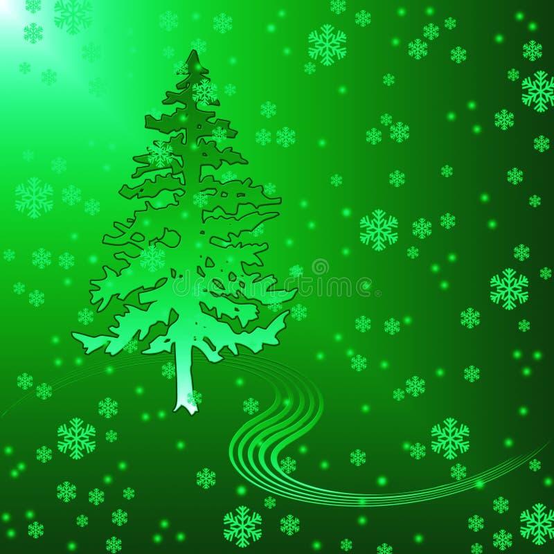δέντρο γουνών απεικόνιση αποθεμάτων
