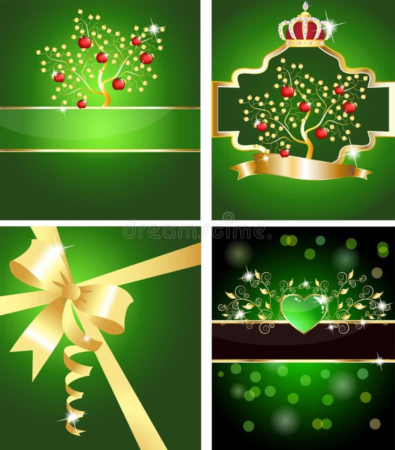 δέντρο κορδελλών καρδιών & απεικόνιση αποθεμάτων