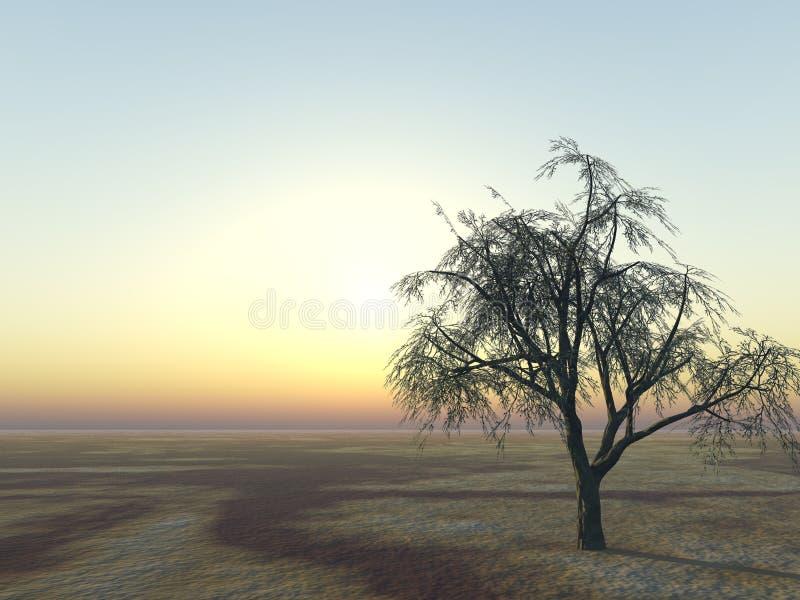 δέντρο οριζόντων ελεύθερη απεικόνιση δικαιώματος