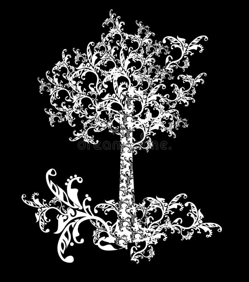 δέντρο παραμυθιού διανυσματική απεικόνιση