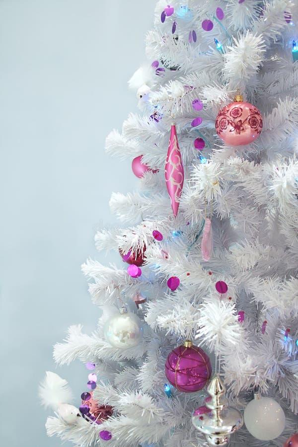 δέντρο πολυτέλειας Χρισ στοκ φωτογραφίες