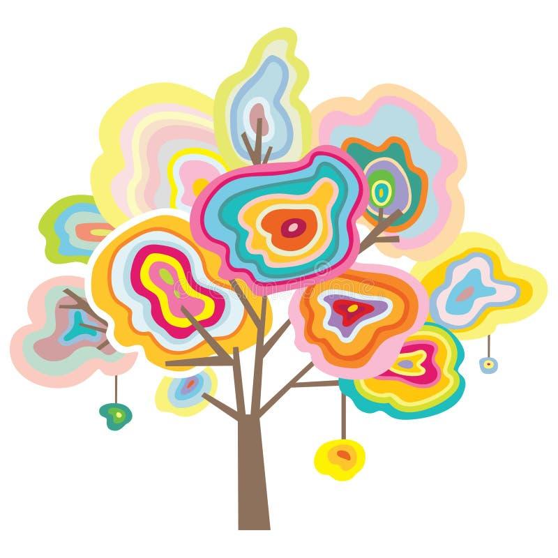 δέντρο πολύτιμων λίθων απεικόνιση αποθεμάτων