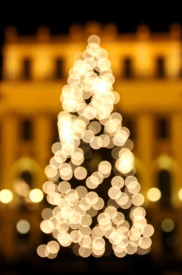 Δέντρο του νέου έτους στοκ εικόνες με δικαίωμα ελεύθερης χρήσης