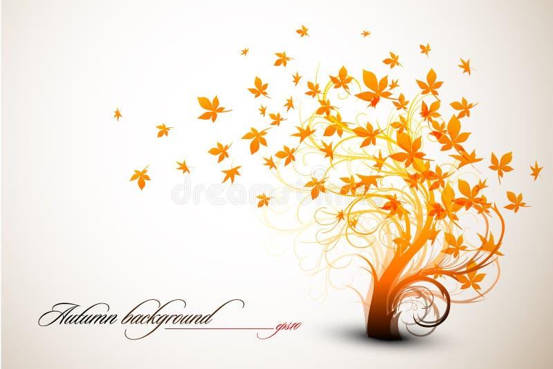 δέντρο φθινοπώρου απεικόνιση αποθεμάτων