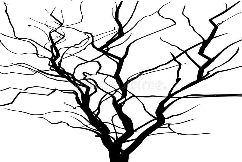 δέντρο φύλλων απεικόνιση αποθεμάτων