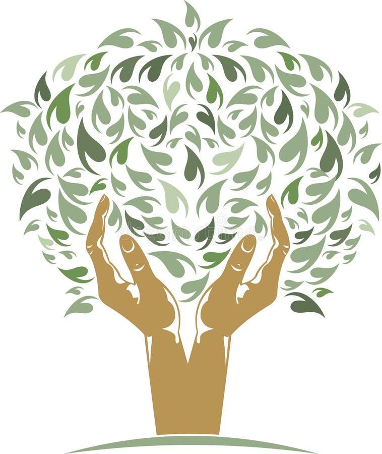 δέντρο χεριών απεικόνιση αποθεμάτων
