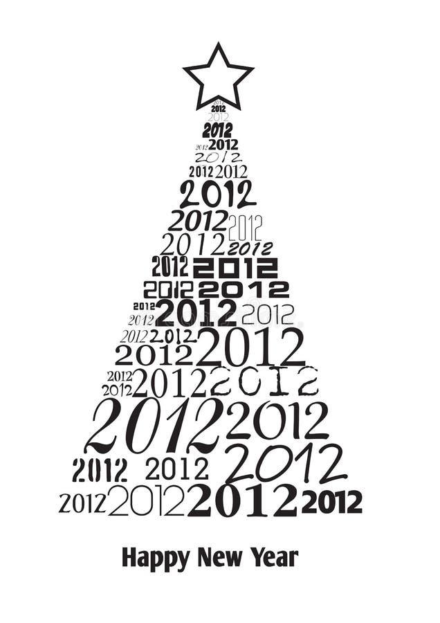 δέντρο 2012 κειμένων Χριστου&gam απεικόνιση αποθεμάτων