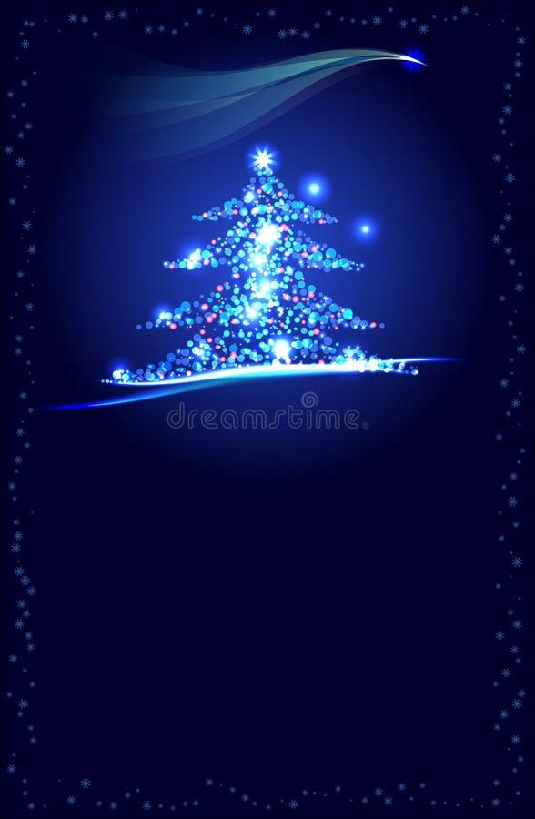 Δέντρο Christmass απεικόνιση αποθεμάτων