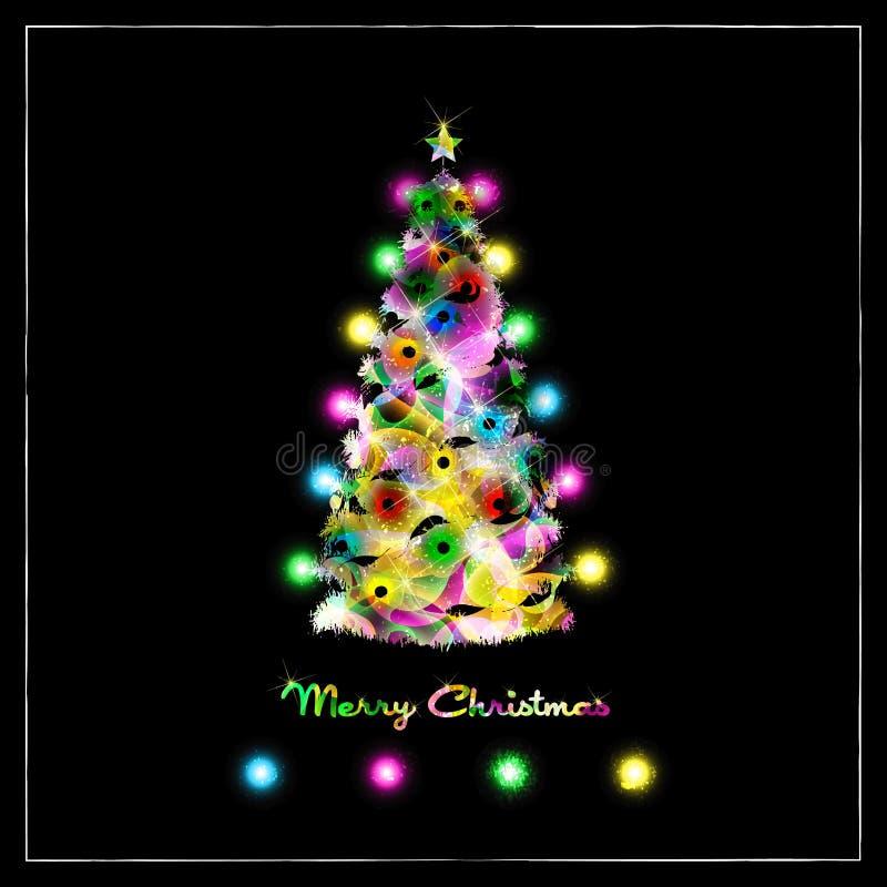 δέντρο cristmas απεικόνιση αποθεμάτων