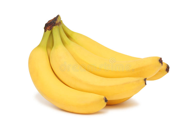 Δέσμη των μπανανών () στοκ εικόνες