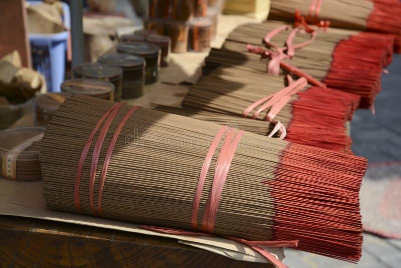 Δέσμη των ραβδιών θυμιάματος στοκ φωτογραφία με δικαίωμα ελεύθερης χρήσης