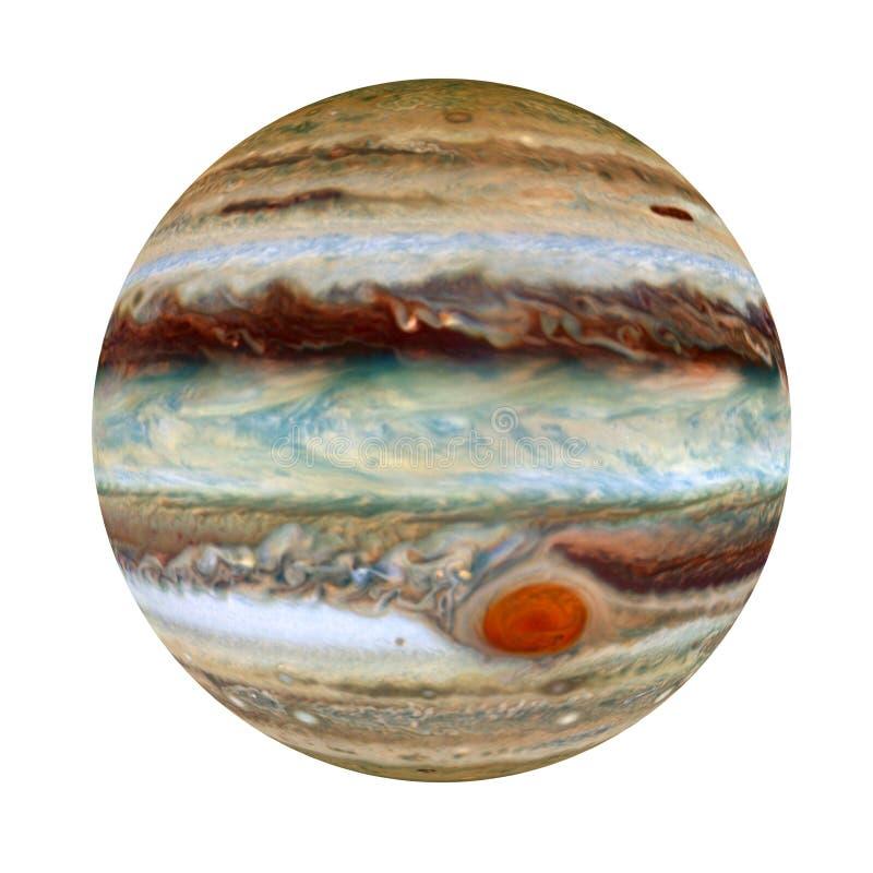 Δίας - ένας γιγαντιαίος πλανήτης στο ηλιακό σύστημα, τρισδιάστατη απόδοση, στοιχεία αυτής της εικόνας που εφοδιάζεται από τη NASA ελεύθερη απεικόνιση δικαιώματος