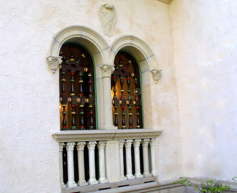 δίδυμα Windows στοκ φωτογραφία με δικαίωμα ελεύθερης χρήσης