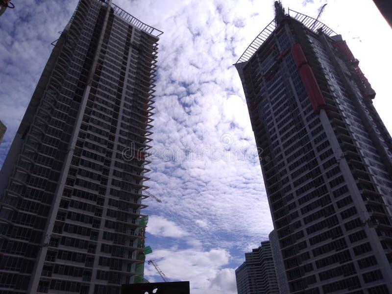 δίδυμο πύργων στοκ φωτογραφίες με δικαίωμα ελεύθερης χρήσης