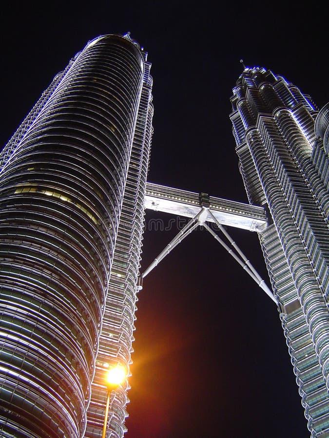 δίδυμο πύργων στοκ εικόνες