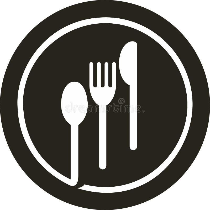 Δίκρανο πιάτων, μαχαίρι, κουτάλι   στοκ φωτογραφία με δικαίωμα ελεύθερης χρήσης