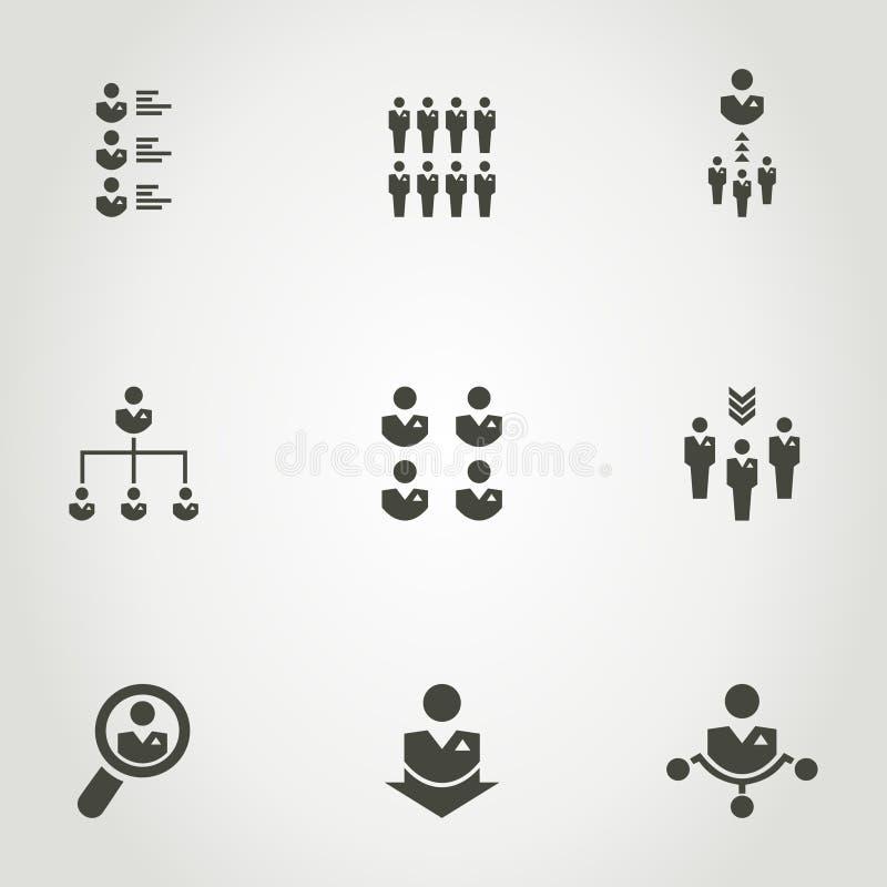 Δίκτυο ένα εικονίδιο ελεύθερη απεικόνιση δικαιώματος
