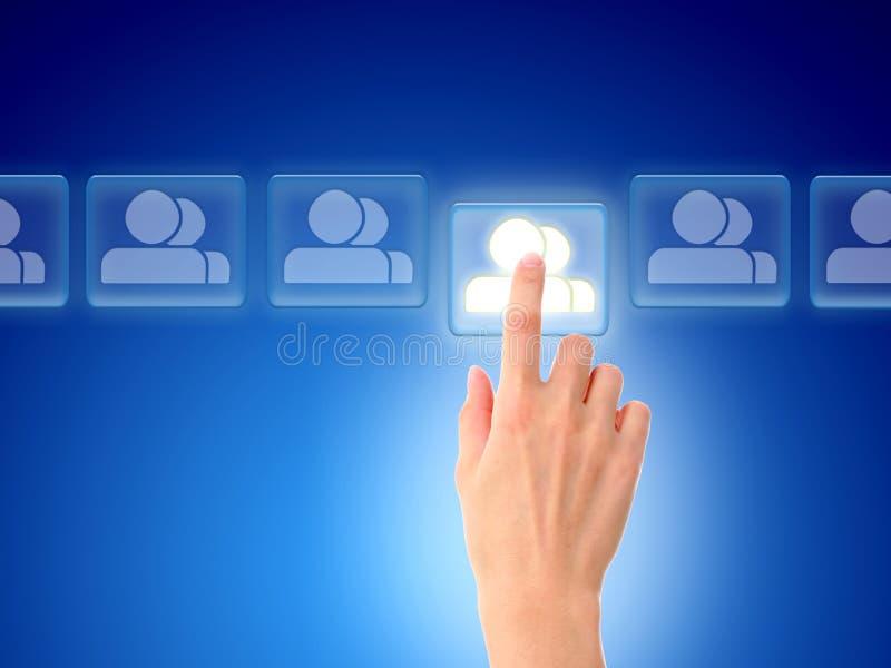 δίκτυο έννοιας κοινωνικ στοκ φωτογραφίες με δικαίωμα ελεύθερης χρήσης