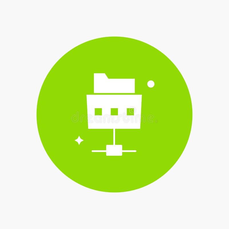 Δίκτυο, αρχείο, φάκελλος απεικόνιση αποθεμάτων