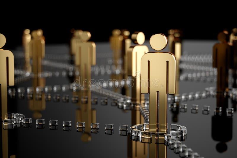 Δίκτυο, δικτύωση, σύνδεση, κοινωνικά δίκτυα, Διαδίκτυο, επικοινωνία ελεύθερη απεικόνιση δικαιώματος
