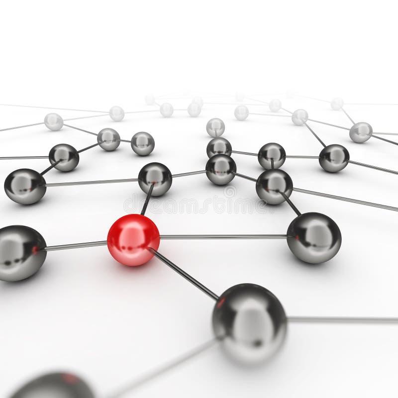 Δίκτυο ηγεσίας απεικόνιση αποθεμάτων
