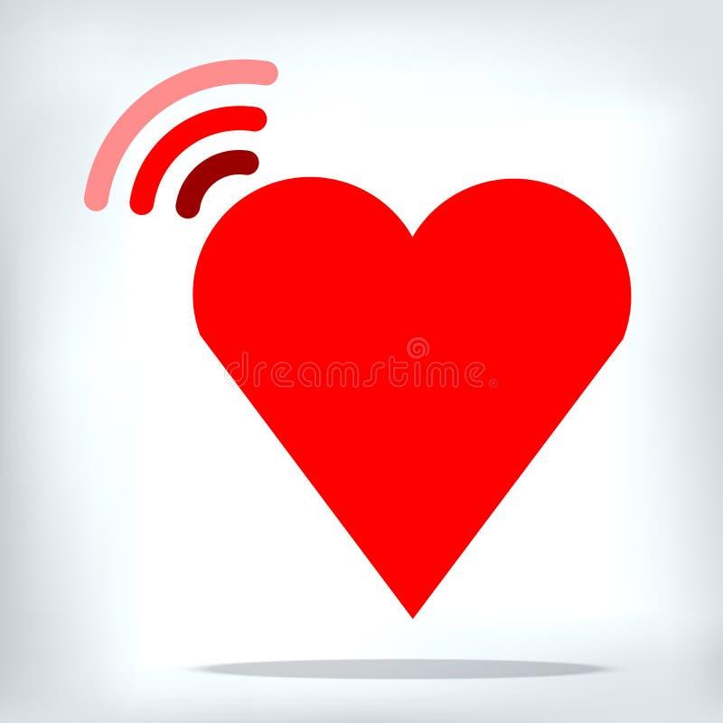 Δίκτυο ιστοχώρου αγάπης όπως την επιχείρηση πάθους ελεύθερη απεικόνιση δικαιώματος