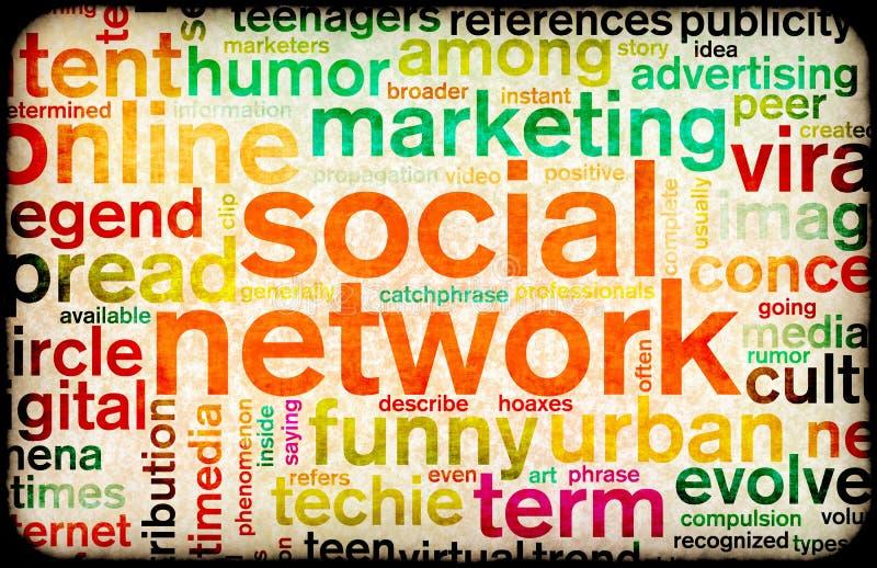 δίκτυο κοινωνικό ελεύθερη απεικόνιση δικαιώματος