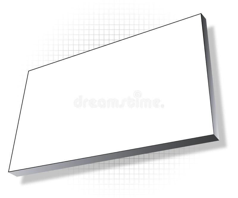 δίκτυο πινάκων διαφημίσε&omega διανυσματική απεικόνιση