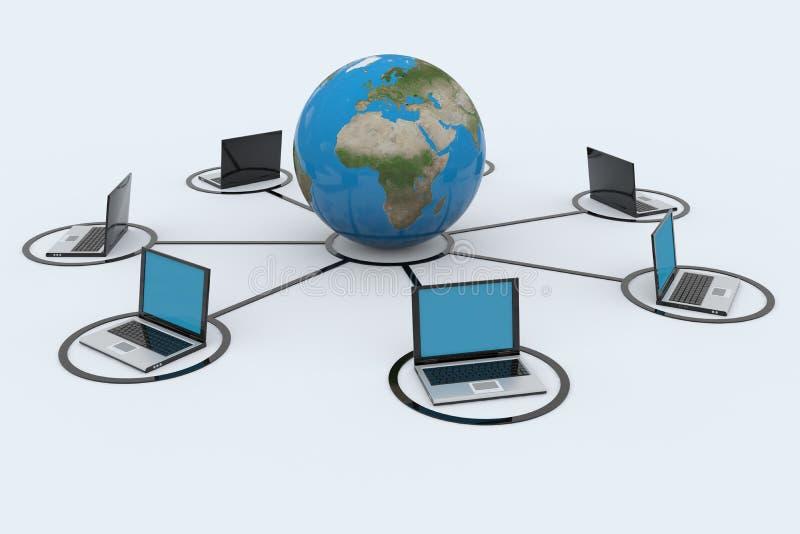 δίκτυο συνδέσεων ελεύθερη απεικόνιση δικαιώματος